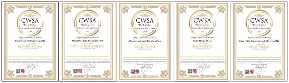 CWSA Best Value 2019 China