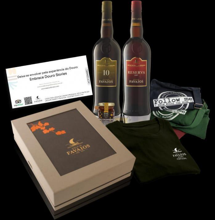 Wine Box enoturismo  'Favaios Tale'