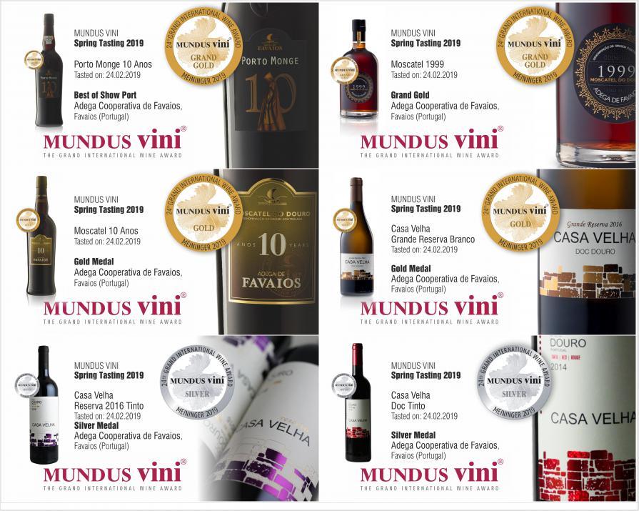Concurso MUNDUS VINI Spring Tasting 2019
