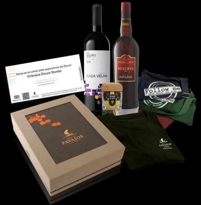 Wine box enoturismo 'Favaios 2020'