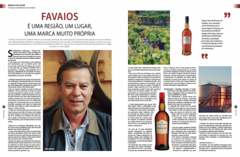 FAVAIOS - IT IS A REGION, A PLACE, A UNIQUE BRAND