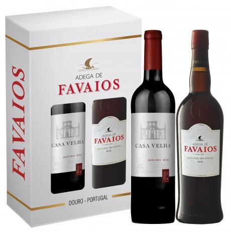 Pack - Casa Velha Doc Douro Tinto + Moscatel Adega De Favaios